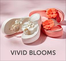 クロックス ヴィヴィッド ブルーム -Vivid Blooms-「花の装飾とワントーンカラーが華やかな限定コレクション」クロックス公式オンラインショップ。公式ならではの豊富な品揃え。送料無料。最短翌日お届け。お電話でのご注文受付中!