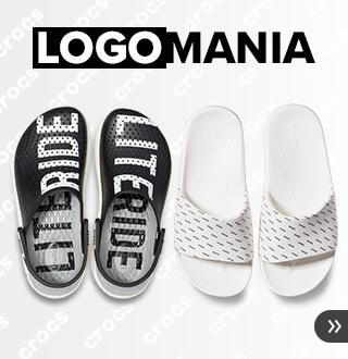 クロックス ロゴマニア -Logomania-人気スタイルにトレンドのロゴをプリントした限定コレクション。クロックス公式オンラインショップ。公式ならではの豊富な品揃え。送料無料。最短翌日お届け。お電話でのご注文受付中!