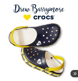 クロックス ドリューXクロックス -Drew Barrymore ♥ Crocs- ドリュー・バリモアが「LOVE」をテーマにデザインした限定シューズ クロックス公式オンラインショップ。公式ならではの豊富な品揃え。送料無料。最短翌日お届け。お電話でのご注文受付中!