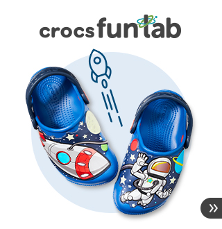 クロックス ファンラブ -fun lab- キッズに大人気のお出かけが楽しくなるデザインクロッグ!歩くたびに光るLED搭載モデルも!