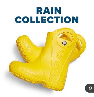 クロックス レインブーツ 雨の日も楽しくなる快適レインブーツ
