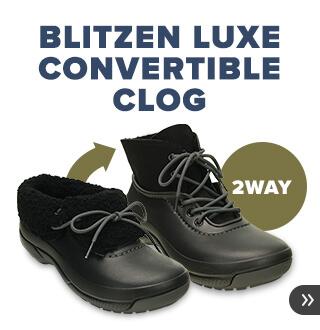 クロックス ブリッリツェン コンバーチブル -Blitzen Convertible-クロッグとブーツの2WAYが楽しめる、暖かいライナー付きシューズ。クロックス公式オンラインショップ。公式ならではの豊富な品揃え。送料無料。最短翌日お届け。お電話でのご注文受付中!