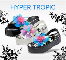 クロックス公式 ハイパー トロピック(Hyper Tropic)はこちら。モチーフが立体的なサンダル。新作多数!送料無料&セールも随時開催中!
