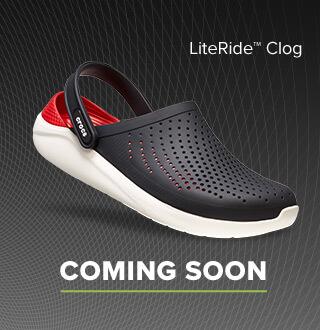 クロックス ライトライド -LiteRide- 沈み込むようなやわらかさで足にフィットする革命的新素材。クロックス公式オンラインショップ。公式ならではの豊富な品揃え。送料無料。最短翌日お届け。お電話でのご注文受付中!