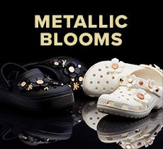 クロックス メタリック ブルームズ -Metallic Blooms-「メタリックの装飾が美しい限定コレクション!人気のプラットフォームスタイルも」クロックス公式オンラインショップ。公式ならではの豊富な品揃え。送料無料。最短翌日お届け。お電話でのご注文受付中!