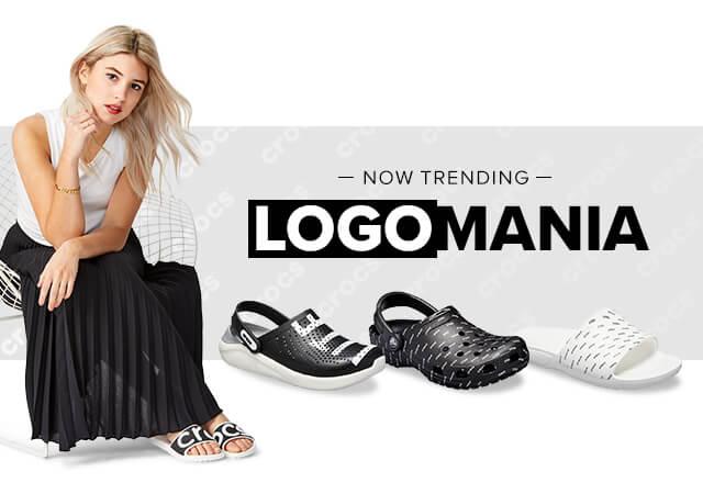 クロックス ロゴマニア -Logomania- 人気スタイルにトレンドのロゴをプリントした限定コレクションクロックス公式オンラインショップ。公式ならではの豊富な品揃え。日本全国送料無料。最短翌日お届け。