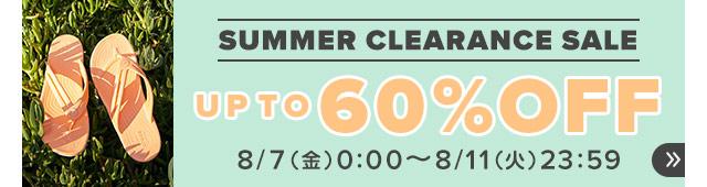 クロックス SUMMER CLEARANCE SALEのイメージ画像