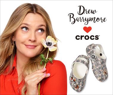 クロックス Drew Barrymore♡Crocs【Drewデザインのスペシャルエディション登場!