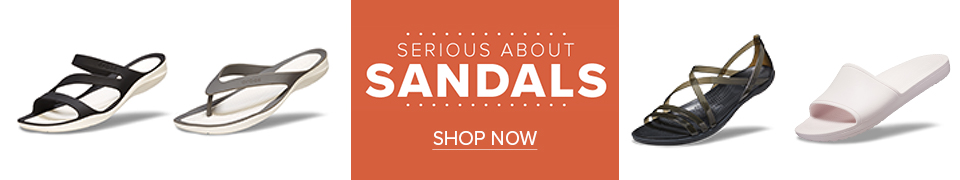 クロックス サンダル Sandal Collection これからの季節に活躍する春夏のサンダルコレクション