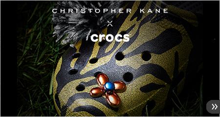 クロックス 英国デザイナーのクリストファー・ケインのコラボシューズ クロックス公式オンラインショップ。公式ならではの豊富な品揃え。送料無料。最短翌日お届け。お電話でのご注文受付中!